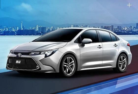 2021款雷凌新增四款车型版本,售价11.38万元起