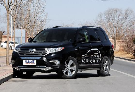 广汽丰田汉兰达最高优惠1.28万元