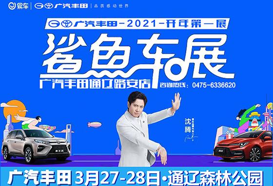广汽丰田2021通辽首届春季购车节