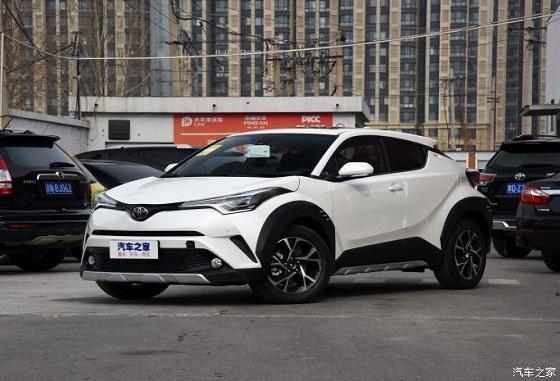 丰田C-HR促销优惠5000元 欢迎试乘试驾