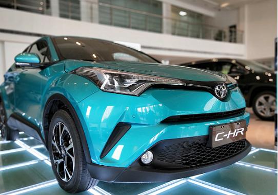 丰田C-HR限时优惠高达6000元 欢迎垂询