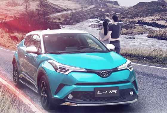 丰田C-HR热销中优惠高达1万元