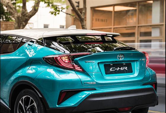 丰田C-HR促销优惠6000元 欢迎试乘试驾