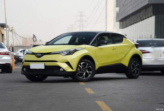 丰田C-HR让利促销中 现综合优惠高达6000元