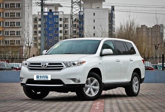 广汽丰田-唯品会SUV混合专场活动