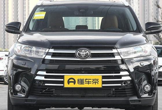 广汽丰田襄阳东凯汉兰达平价销售中 目前售价23.98万元起