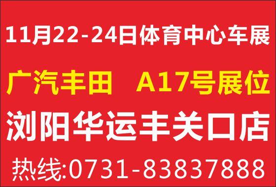 11月22-24日浏阳车展
