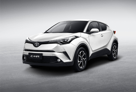 丰田C-HR限时优惠3000元 售价14.18万元起