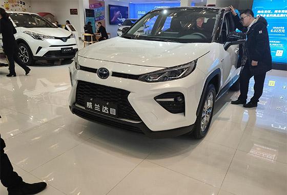 广丰首款TNGA中型SUV威兰达火热预定中