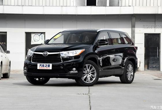 汉兰达目前售价23.98万元起 可试乘试驾