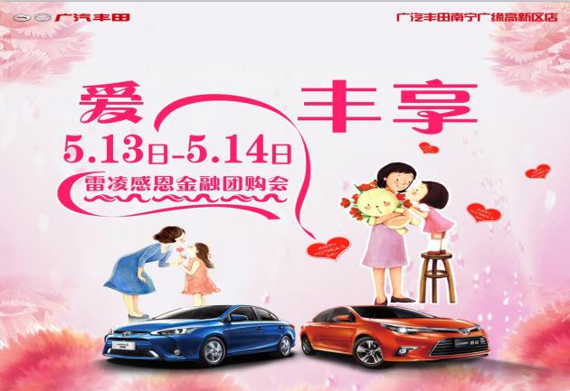 『爱+丰享』雷凌感恩金融团购会