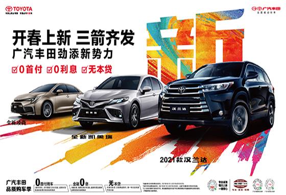 "TNGA平台A级车""雷凌""首付仅需1万元"