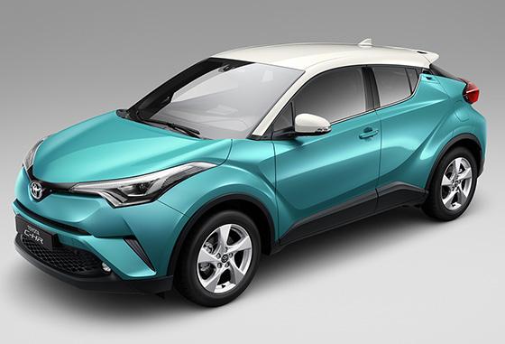 丰田C-HR售价14.48万元起 欢迎垂询