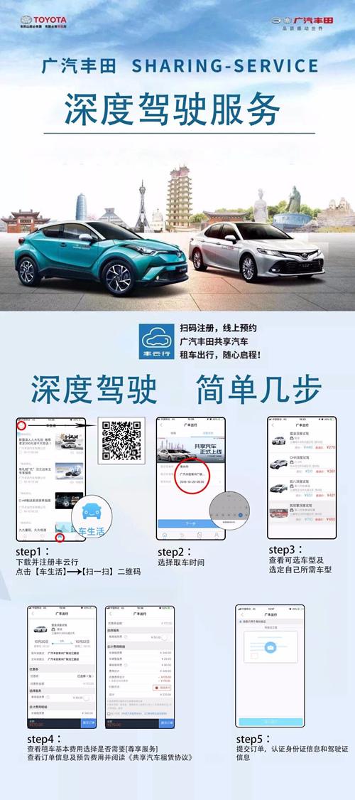 租车哪里选?广汽丰田瑞天南湖路店给您好开还不贵!